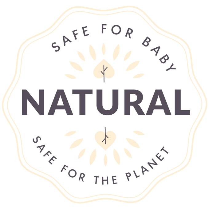 Natural Baby Care safe for baby, safe for the planet Icon