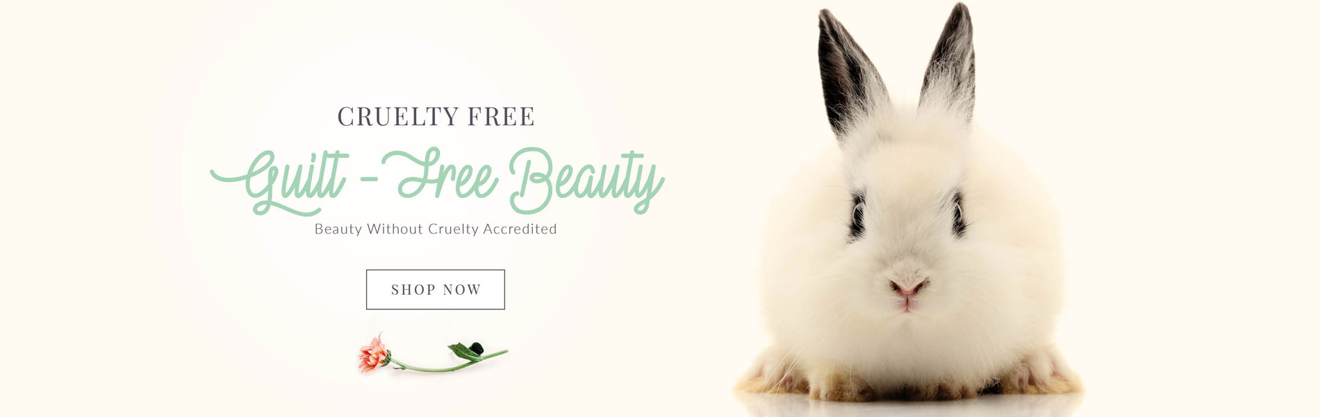 Cruelty Free Guilt Free Beauty - Beauty Without Cruelty Accredited
