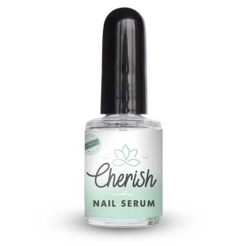 Natural nail & cuticle serum glass bottle 10ml