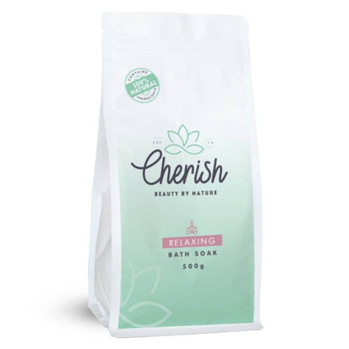 Cherish Relaxing Bath soak 500g bag